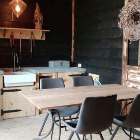project buitenkeuken zitplaats